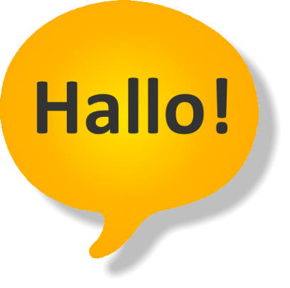 Hallo!-App Logo