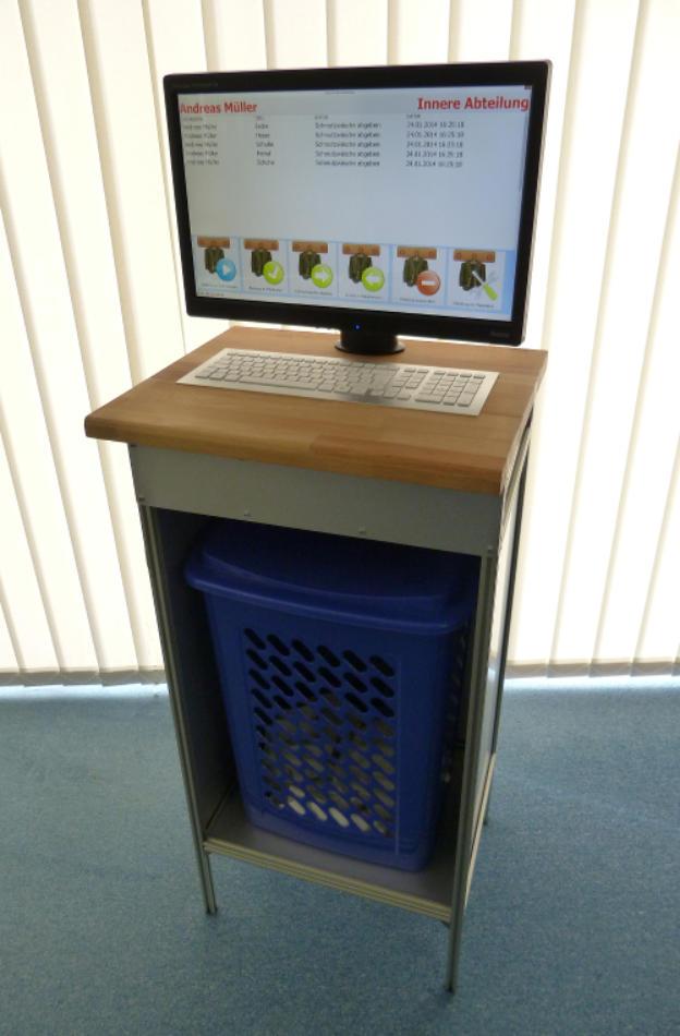 RFID Wäscheterminal - Prototyp für einen Kunden