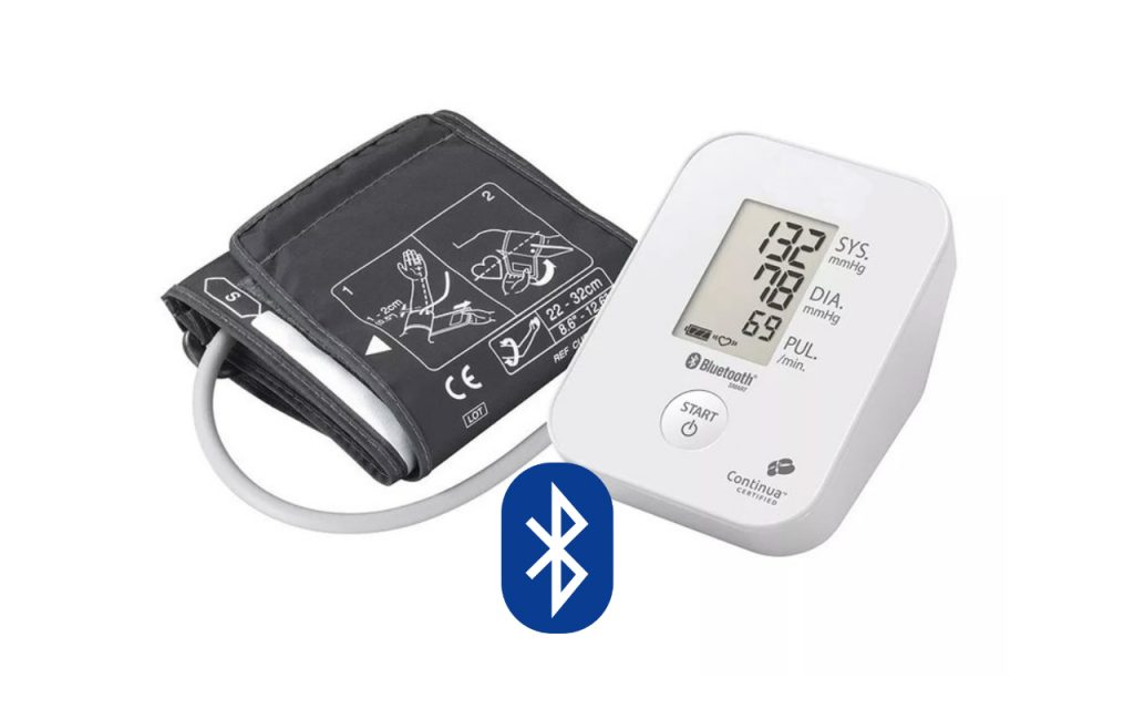 Blutdruck messen via Bluetooth